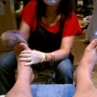 Photo taken at Heavenly Nails & Spa by Manuel M. on 3/29/2012