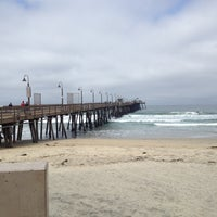 Photo taken at Imperial Beach Pier by Beverly R. on 6/2/2012