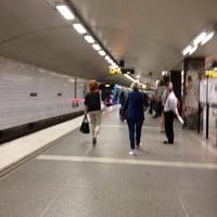 Photo taken at T-Centralen T-bana by Mårten S. on 7/4/2012