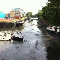 Photo taken at Brentford Dock by Glenn L. on 8/16/2012