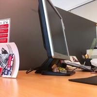 Photo taken at Banco Santander by Esteban A. on 5/14/2012