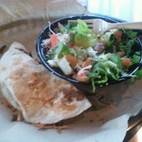 Photo taken at Qdoba Mexican Grill by Mykel F. on 4/25/2012