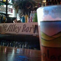 Photo taken at The Alley Bar by Paul N. on 7/20/2012