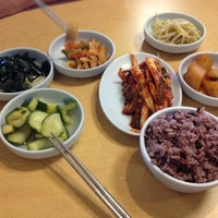 Photo taken at Convoy Tofu House by Robert M. on 8/20/2012