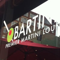 Photo taken at Bartini's Martini Lounge by Emily C. on 5/12/2012