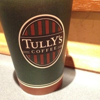 Photo taken at Tully's Coffee by babo on 2/16/2012