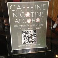 Photo taken at Halcyon Coffee, Bar & Lounge by jeffery k. on 3/13/2012