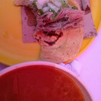 Photo taken at Barbacoa y Consome El Paisa by V iRy A. on 5/27/2012