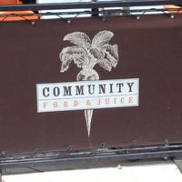 Photo taken at Community Food & Juice by Mallory S. on 8/19/2012