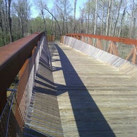 Photo taken at Memphis Greenline Bike Trail by Tyrone W. on 3/10/2012