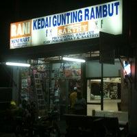 Photo taken at Kedai Gunting Rambut Sakthy by Dan M. on 8/24/2012