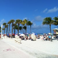 Photo taken at Hollywood Beach Boardwalk by Ari D. on 3/9/2012
