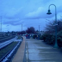 Photo taken at Vancouver Amtrak Station (VAN) by Margaret O. on 4/4/2012