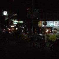 Photo taken at ตลาดนัดหน้าหมู่บ้าน by Sabrin E. on 3/8/2012