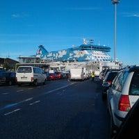 Photo taken at Silja Line Car Check-In by Alexander K. on 8/1/2012