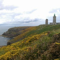 Photo taken at Phare du Cap Fréhel by Dan J. on 7/4/2012