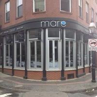 3/28/2012 tarihinde Nick V.ziyaretçi tarafından Mare Oyster Bar'de çekilen fotoğraf