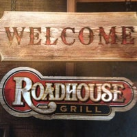 Photo taken at Roadhouse Grill by Igor Sales on 3/17/2012