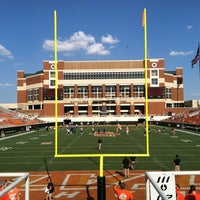 Photo taken at Boone Pickens Stadium by Mason C. on 9/1/2012