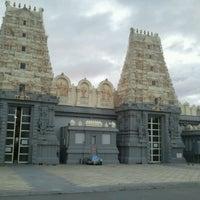 Photo taken at Shri Shiva Vishnu Temple by Chetan D. on 6/24/2012