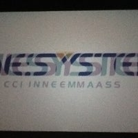 Photo taken at Cinesystem Cinemas by Raquel S. on 7/24/2012