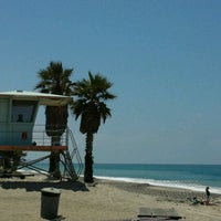 Photo taken at 'Hole in the Fence' Beach by Elsa on 6/20/2012