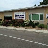 Photo taken at Bridgman Elementary by Monica G. on 6/30/2012