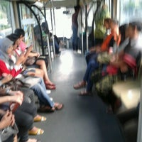 Photo taken at Halte TransJakarta Gn. Sahari Mangga Dua by Zuliadi Z. on 6/24/2012
