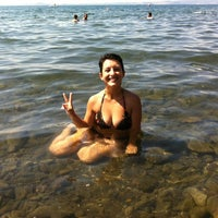 Photo taken at Spiaggia Libera Lago di Bolsena by Chiara M. on 8/15/2012