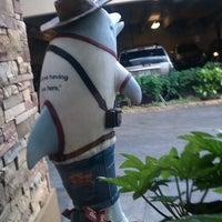 "Photo taken at ""Hamphin Traveler"" Dolphin on Parade @ Hampton Inn, GA Tech by Robert D. on 4/20/2012"