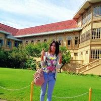Photo taken at Vimanmek Mansion by Tan C. on 8/5/2012