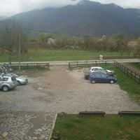 Photo taken at Pensiunea La Doctorelu' by Daniel K. on 4/15/2012