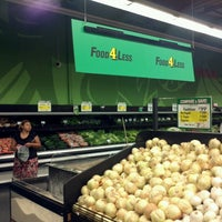 Photo taken at Food 4 Less by Edgar T. on 7/23/2012