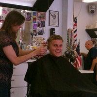 Photo taken at Carrollwood Barber Shop by Linda H. on 4/19/2012