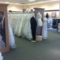 Photo taken at David's Bridal by Brad C. on 5/12/2012