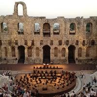 Photo taken at Herod Atticus Odeon by George @gardegeo G. on 7/5/2012