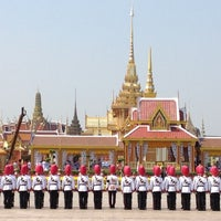 Photo taken at Sanam Luang by Auttasit T. on 4/9/2012
