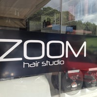 Photo taken at Zoom Hair Studio by Felipe Figueiredo M. on 3/6/2012