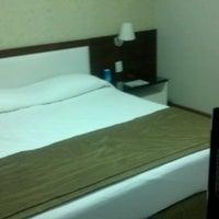 Photo taken at Hotel Golden Tulip Pantanal by Allan K. on 5/18/2012