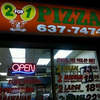 Photo taken at Lugano 2 For 1 Pizza by Scott M. on 5/26/2012