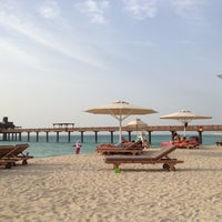 Photo taken at Madinat Jumeirah Private Beach by Pavel N. on 3/29/2012