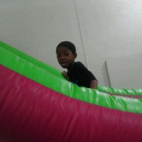 Photo taken at Joyful Jumps by Inette H. on 4/6/2012