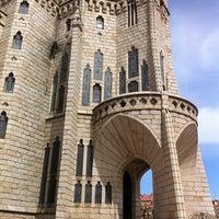 Photo taken at Palacio Episcopal de Astorga by Alfonso L. on 3/31/2012
