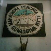 Photo taken at sekretariat Mapa Gunadarma by Syahrul R. on 2/24/2012