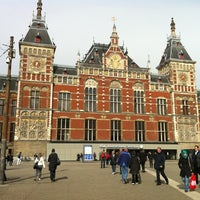 Photo taken at Amsterdam Central Railway Station by Mark J. on 4/18/2012