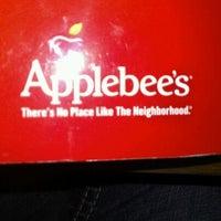 Photo taken at Applebee's Neighborhood Grill & Bar by Maura B. on 2/27/2012