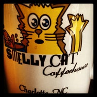 Photo taken at Smelly Cat Coffeehouse by Zachary W. on 9/7/2012