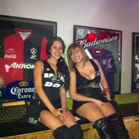 Photo taken at Ojos Locos Sports Cantina by Tom C. on 5/3/2012