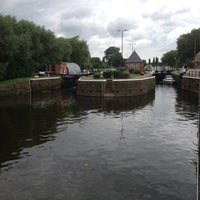 Photo taken at Sawley Mechanised Locks, Upper Trent by Martin on 8/3/2012