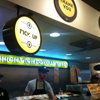 Photo taken at Which Wich? Superior Sandwiches by Charley C. on 4/16/2012